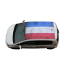 Autodak Wrappen Hollandse vlag - autodealerstickers